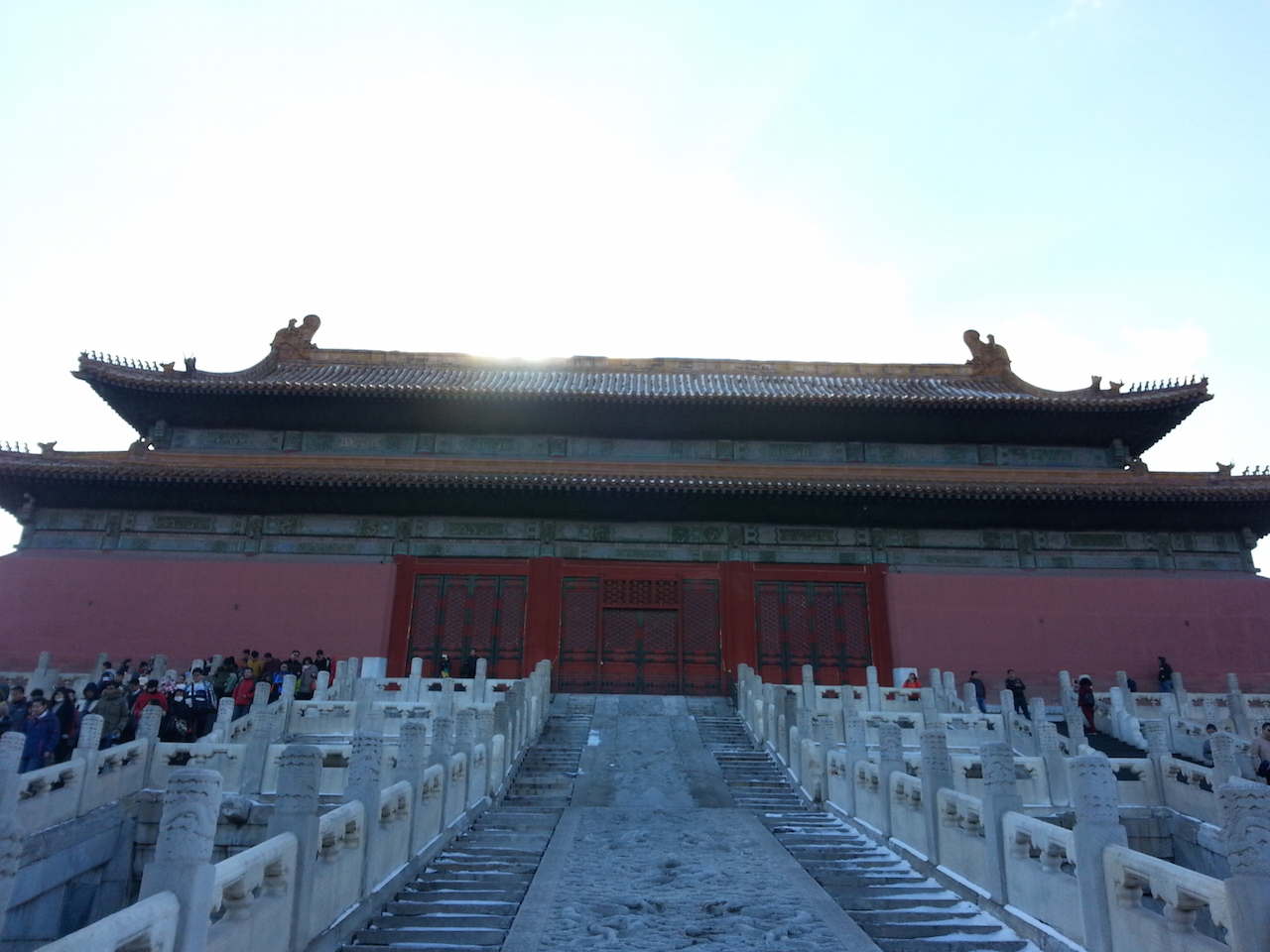 The north end of a Forbidden City Palace